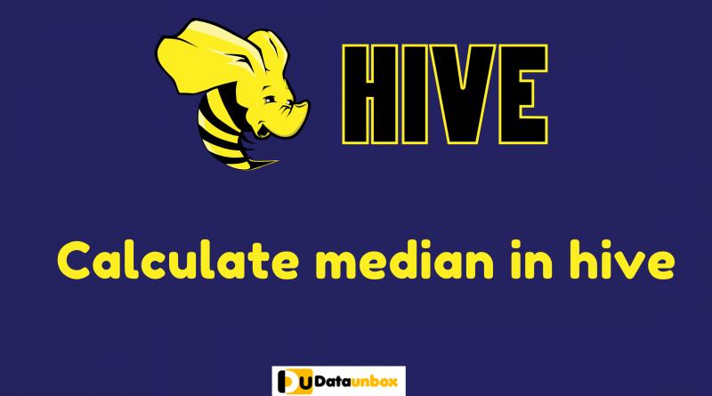 Calculate median in hive
