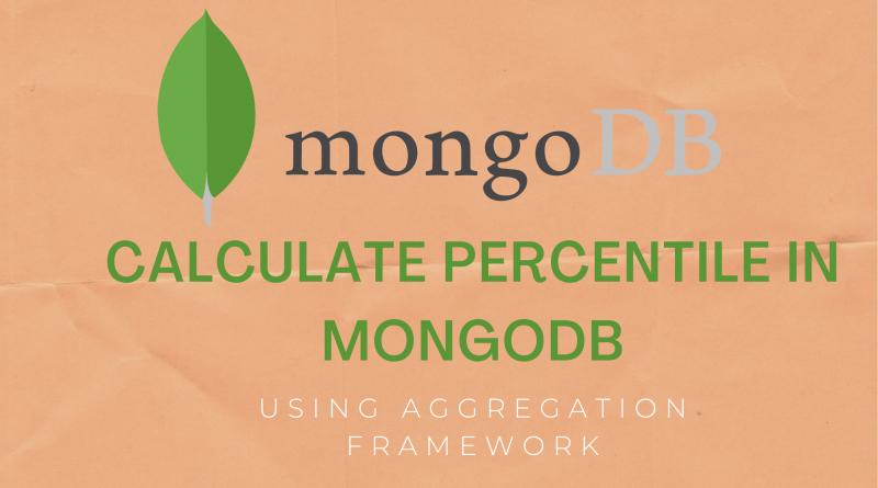 Calculate Percentile in MongoDB