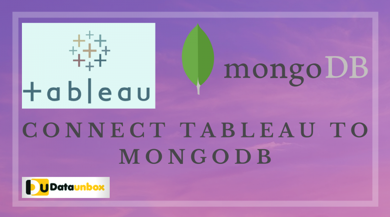 Connect Tableau to Remote MongoDB