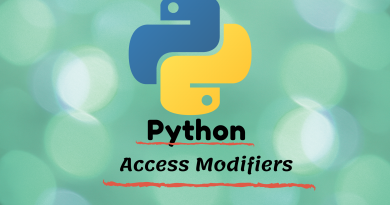 python access modifier