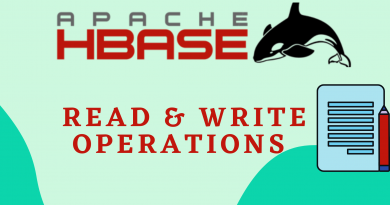 hbase read, hbase write