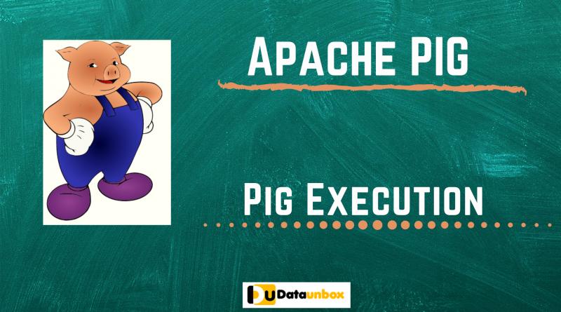 Apache PIG execution