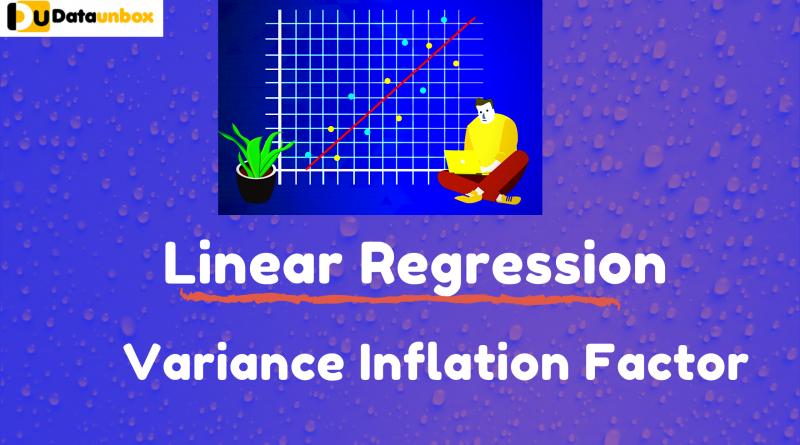 Variance Inflation factor