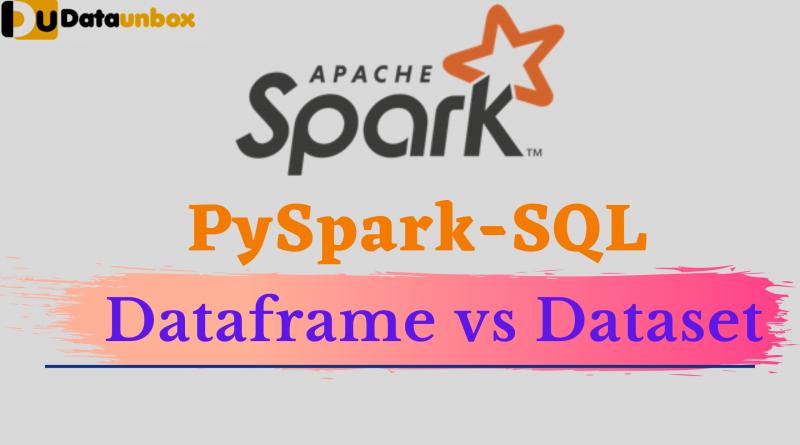 dataframe vs dataset