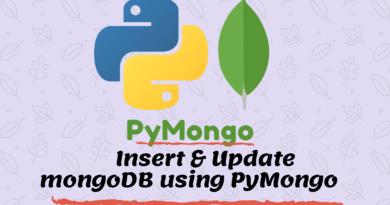 Insert into mongodb using pymongo